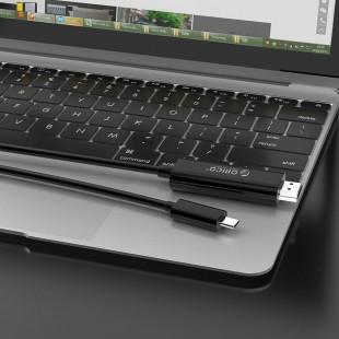 کابل تبدیل USB-C به HDMI اوریکو مدل XC-201 طول 1.8 متر USB-C به HDMI اوریکو مدل XC-201 طول 1.8 متر