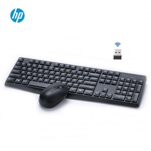 کیبورد و ماوس بیسیم اچ پی مدل سی اس10 HP CS10 Wireless Keyboard And Mouse Set