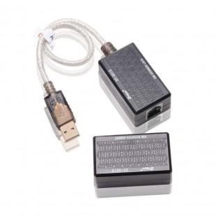قیمت کابل افزایش طول USB رو LAN دیتک مدل DT-5015 طول 60 متر