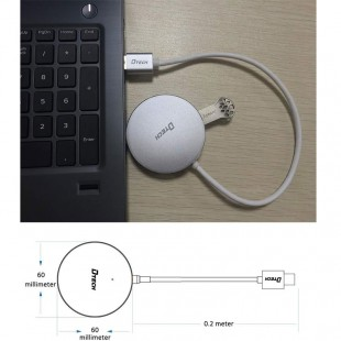 مشخصات هاب چهار پورت Type-C به USB3.0 دیتک مدل DT-3312