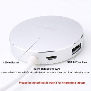 هاب چهار پورت Type-C به USB3.0 دیتک مدل DT-3312