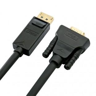 کابل تبدیل Display به VGA دیتک مدل DT-CU0307 طول 1.8 متر