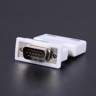 خرید HDMI Female to VGA Male 3.5mm Audio Output Connector