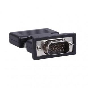 مشخصات تبدیل HDMI به VGA و 3.5mm Audio با کابل صدا به طول 20 سانتی متر
