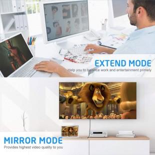 تبدیل MiniDisplay به HDMI و VGA مدل OTN-5131B
