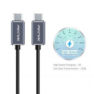 قیمت کابل تبدیل USB-C به USB-C ویولینک مدل WL-CB05 طول 1 متری