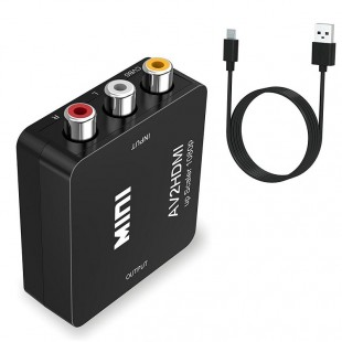مبدل مینی AV به HDMI لنکنگ مدل LKV363E