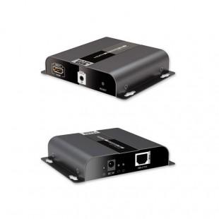 اکستندر تصویر HDMI لنکنگ مدل LKV683-POE برروی IP CAT6 با تکنولوژی HDbitT