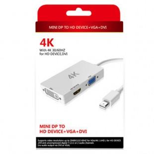 خرید تبدیل Mini DisplayPort به VGA/HDMI/DVI اونتن مدل OT-3245