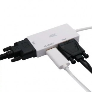 تبدیل Mini DisplayPort به VGA/HDMI/DVI اونتن مدل OT-3245