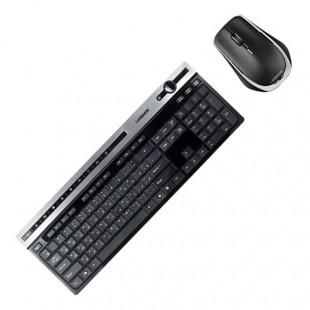 مشخصات و قیمت خرید کیبورد و ماوس بی سیم گرین مدل GKM-505W