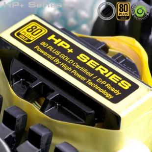 منبع تغذیه نیمه ماژولار گرین مدل 500b-hp Plus