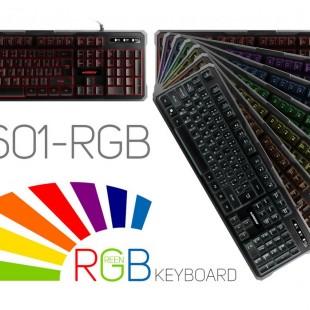 مشخصات و قیمت خرید کیبورد مخصوص بازی گرین مدل GK601-RGB