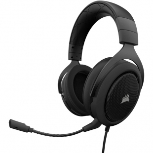 هدست گیمینگ باسیم کورسیر مدل HS50 Stereo
