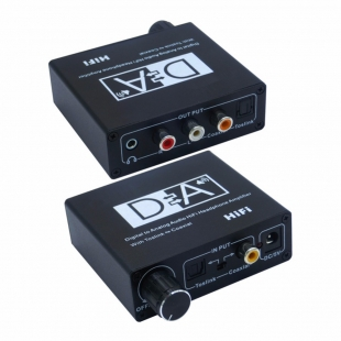 تبدیل صدای دیجیتال به آنالوگ Optical/coaxial مدل PH2020 با قابلیت HiFi و کنترل حجم صدا