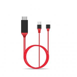 کابل تبدیل مادگی 2.0 USB به HDMI