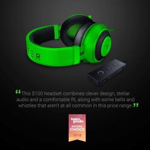 خرید هدست گیمینگ مخصوص بازی ریزر مدل Kraken Tournament Edition با صدای سه بعدی