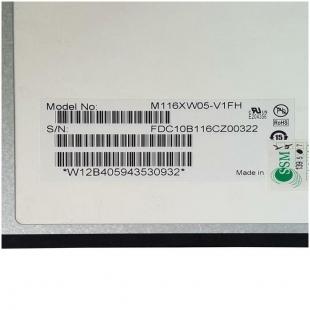ال ای دی لپ تاپ ۱۱.۶ IVO M۱۱۶XW۰۵ نازک براق ۳۰ پین برای ام اس آی