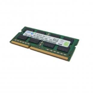 رم لپ تاپ سامسونگ ۴ گیگابایت DDR۳ با فرکانس ۱۶۰۰ مگاهرتز