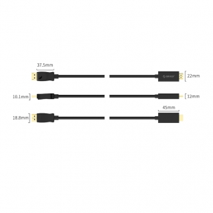 کابل تبدیل Display Port به HD اوریکو مدل XD-DTH4-10