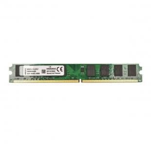 رم کامپیوتر DDR2 تک کاناله 800 مگاهرتز کینگستون ظرفیت 2 گیگابایت