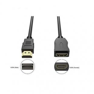 کابل افزایش طول HDMI ای نت مدل dn طول 0.5 متر