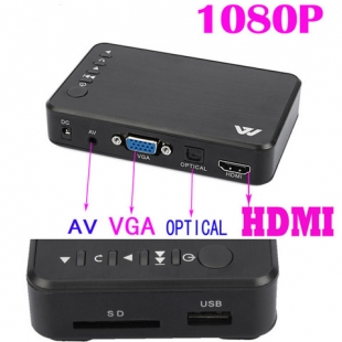 اچ دی مدیا پلیر مدل 1080P