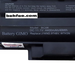 باطری لپ تاپ دل  مدل Inspiron N5010-N5110-N4010-N5030-6Cell