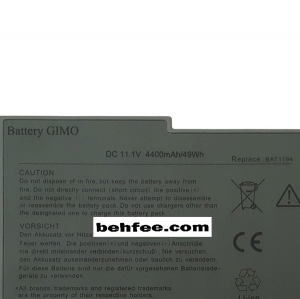باطری لپ تاپ دل مدل  Latitude D500-D600-D610-6Cell