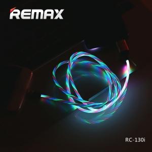 کابل شارژ اندروید چراغ دار ریمکس مدل REMAX RC-130m