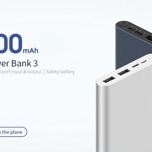 پاور بانک 10000 هزار شیائومی Xiaomi PLM13ZM 10000mAh Power Bank
