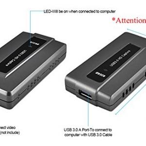 کارت کپچر ایزکپ EZCAP 287 Game Capture HD Box HDMI to PC USB 3.0