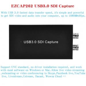 کارت کپچر SDI به USB3 ایزکپ مدل EZCAP 262  SDI to USB3.0 Video Capture