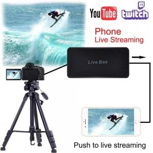 کارت کپچر ایزکپ EZCAP 270 HDMI Video Capture Card 1080P Game Video Recorder for PS3 PS4 TV BOX Twitch OBS Youtube Mobile phone Live Streaming