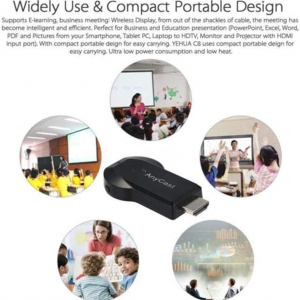 دانگل HDMI انی کست برای انتقال موبایل به تلویزیون مدل ANYCAST  M9 Plus