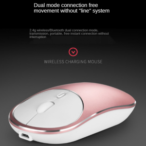 ماوس وایرلس مدل M09s wireless bluetooth dual-mode mouse office silent laptop