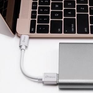 کابل Type-c به USB دیتک مدل DT-T0009 به طول 1 متر