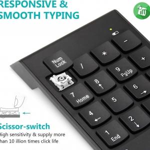 کیبورد  ماشین حساب مدل K20 Mini Wireless Numeric Keypad