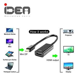 تبدیل Mini DisplayPort به HDMI ایده idea mini display to hdmi