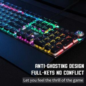 کیبورد گیمینگ RGB