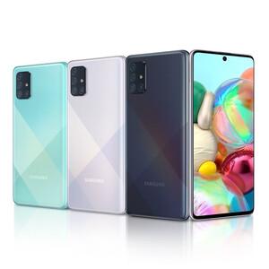 لیست قیمت گوشی موبایل سامسونگ مدل Galaxy A71 SM-A715F/DS دو سیمکارت ظرفیت 128 گیگابایت و رم 8 گیگابایت