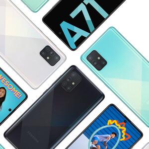 مشخصات و رنگبندی گوشی موبایل سامسونگ مدل Galaxy A71 SM-A715F/DS دو سیمکارت ظرفیت 128 گیگابایت و رم 8 گیگابایت