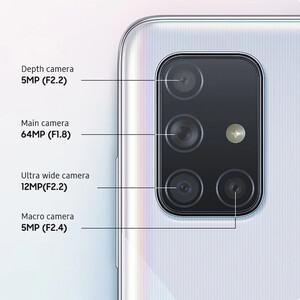 مشخصات کلی دوربین و قیمت گوشی موبایل سامسونگ مدل Galaxy A71 SM-A715F/DS دو سیمکارت ظرفیت 128 گیگابایت و رم 8 گیگابایت