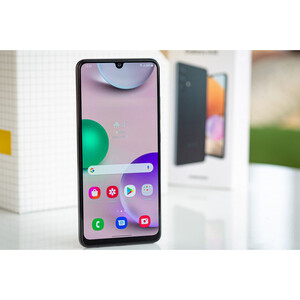 در مورد ابعاد گوشی موبایل سامسونگ مدل Galaxy A32 SM-A325F/DS دو سیمکارت ظرفیت 128 گیگابایت و رم 6 گیگابایت