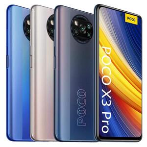 ارزان ترین  گوشی موبایل شیائومی مدل POCO X3 Pro M22102J20SG NFC دو سیم کارت ظرفیت 128 گیگابایت و 6 گیگابایت رم