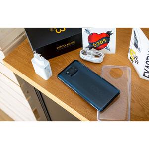 محتویات داخل جعبه همرا با گوشی موبایل شیائومی مدل POCO X3 M2007J20CG دو سیم کارت ظرفیت 128 گیگابایت