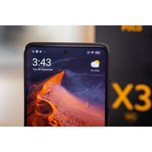 در مورد دوربین سلفی گوشی موبایل شیائومی مدل POCO X3 NFC M2007J20CG دو سیم کارت ظرفیت 64 گیگابایت و رم 6 گیگابایت