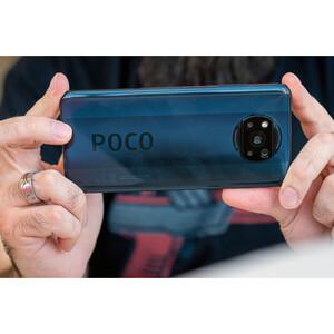 مشخصات و کیفیت دوربین گوشی موبایل شیائومی مدل POCO X3 NFC M2007J20CG دو سیم کارت ظرفیت 64 گیگابایت و رم 6 گیگابایت