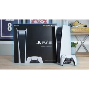بهترین قیمت کنسول بازی سونی مدل Playstation 5 Digital Edition ظرفیت 825 گیگابایت