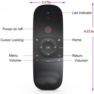 ریموت کنترل صفحه کلید دار مدل Air Mouse Remote Control Model W1